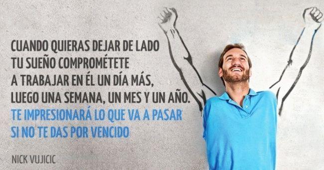 Nick Vujicic: Gran ejemplo de perseverancia | Inspiración