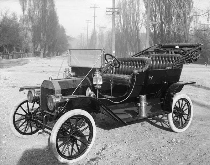 Ford-T El coche que llevó a Henrry Ford a la fama