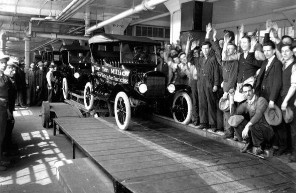 Primero coches de Henry Ford