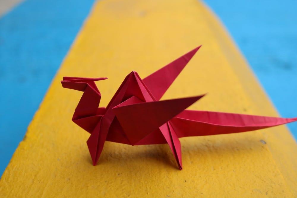 Pasatiempo barato de origami